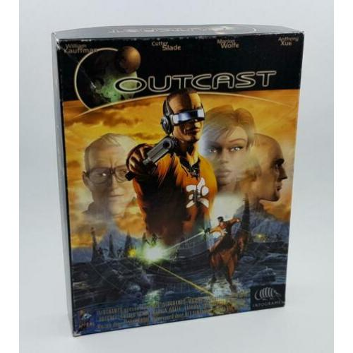 Te koop: PC Big Box Game Outcast (No Game Box, Inserts only)