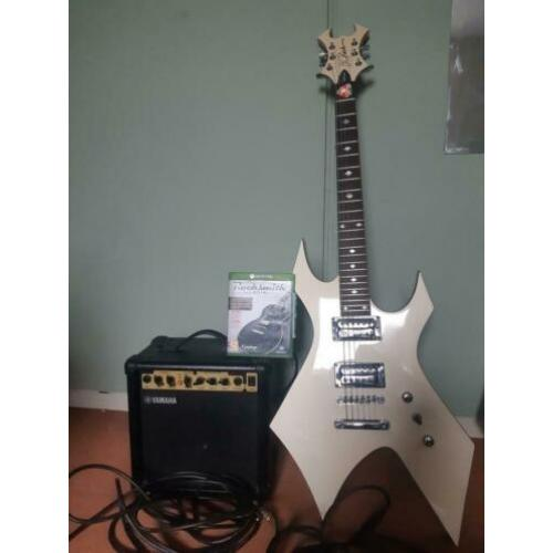 Game Rock smith en kabel.plus gitaar bc rich .versterker